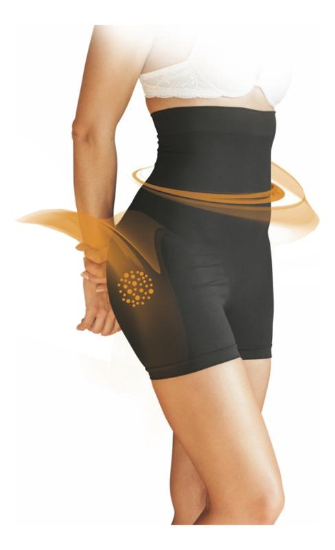 Фото - Шорты с моделирующим эффектом для области живота и талии Panty Ventre Piatto: Размер L-XL (46-50) guam шорты с моделирующим эффектом области живота и талии l xl 46 50 guam аксессуары
