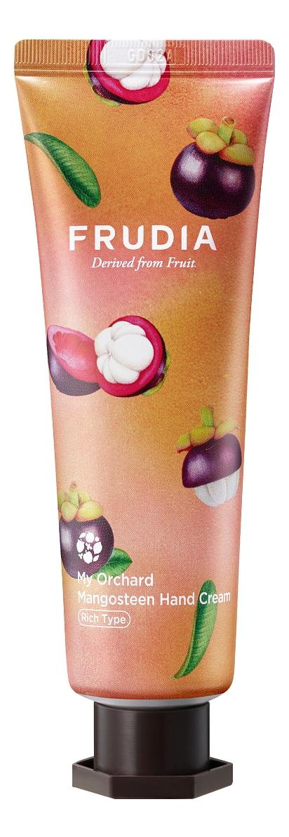 Купить Крем для рук c экстрактом мангустина Squeeze Therapy My Orchard Mangosteen Hand Cream 30г: Крем 30мл, Frudia