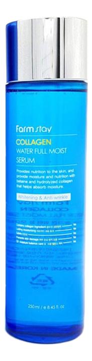 Купить Сыворотка для лица с коллагеном Collagen Water Full Moist Serum 250мл, Farm Stay