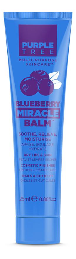 Бальзам для губ Miracle Balm Blueberry 25мл (черника) purple tree miracle balm coconut бальзам для губ кокос 25 мл