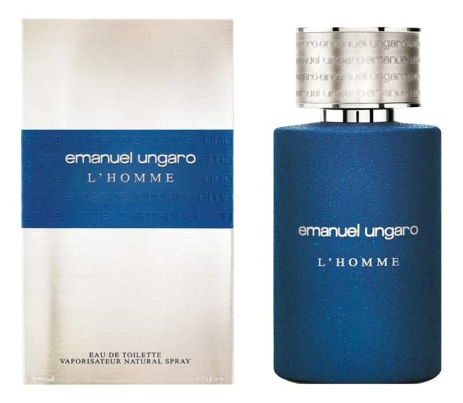 Фото - Emanuel Ungaro L'Homme: туалетная вода 100мл туалетная вода emanuel ungaro