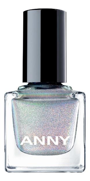 Лак для ногтей 15мл: 702 Holographic Silver