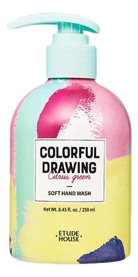 Жидкое мыло для рук Colorful Drawing Soft Hand Wash 250мл недорого
