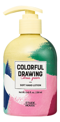 Лосьон для рук Colorful Drawing Soft Hand Lotion 250мл