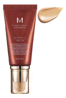 BB крем для лица M Perfect Cover BB Cream SPF42 PA+++ 50мл: 25 Warm Beige bb крем для лица m perfect cover bb cream spf42 pa 50мл 13 bright beige