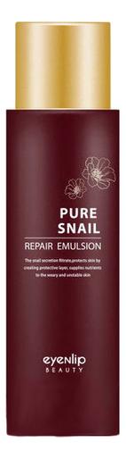 Эмульсия для лица с муцином улитки Pure Snail Repair Emulsion 150мл недорого