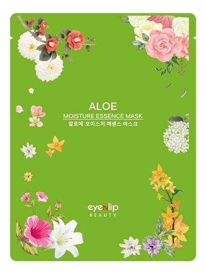 Тканевая маска для лица с экстрактом алоэ вера Aloe Moisture Essence Mask 25мл тканевая маска для лица с экстрактом алоэ вера real essence mask pack aloe 25мл