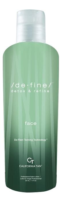 Крем для загара лица в солярии De-Fine Face 30мл: Крем 30мл фото