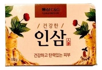 Мыло туалетное Ginseng Soap 100г (женьшень)