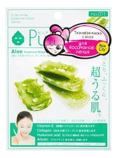Sun Smile Маска для лица с экстрактом алоэ Pure Smile Aloe Essence Mask 23мл