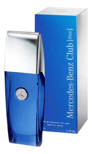 Mercedes-Benz Club Blue: туалетная вода 100мл