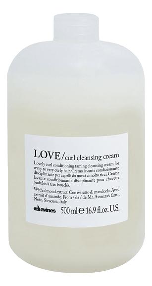 Очищающая пенка для усиления завитка Love Curl Cleansing Cream: Пенка 500мл chi luxury black seed oil curl defining cream gel