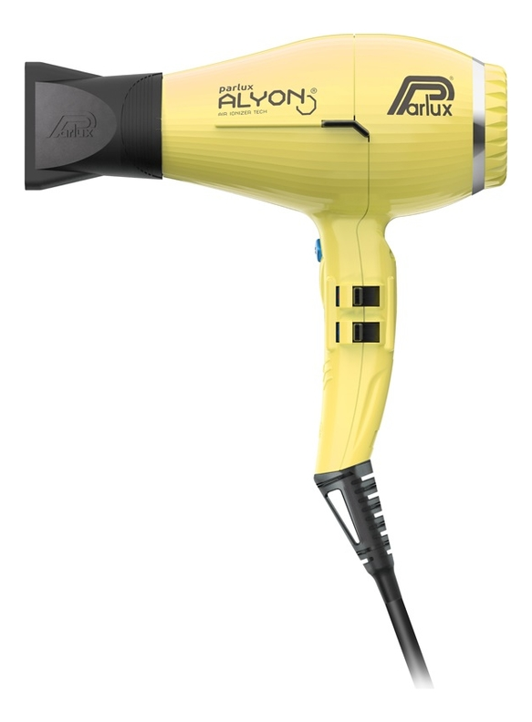 Фен для волос Alyon Ionic 2250W (желтый, 2 насадки) фото