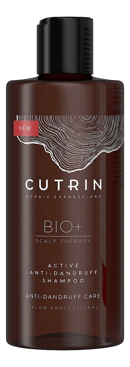 Купить Шампунь для волос против перхоти BIO+ Active Anti-Dandruff Shampoo 250мл, CUTRIN