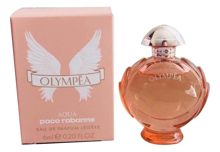 Фото - Olympea Aqua Eau De Parfum Legere: парфюмерная вода 6мл парфюмерная вода paco rabanne olympea onyx 80 мл