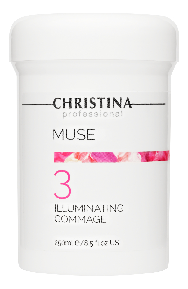 Отшелушивающий гоммаж для лица Muse Illuminating Gommage Step 3 250мл недорого