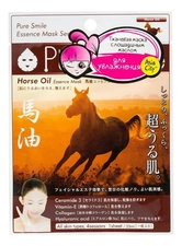 Sun Smile Маска для лица с лошадиным маслом Pure Smile Horse Oil Essence Mask 23мл