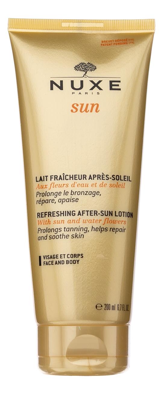 Купить Освежающий лосьон после солнца для лица и тела Sun Refleshing After-Sun Lotion 200мл, NUXE