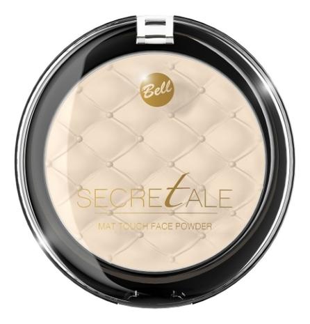 Матирующая пудра фиксирующая макияж Secretale Mat Touch Face Powder 9г: No 01 bell secretale пудра компактная матирующая фиксирующая mat touch face powder тон 04
