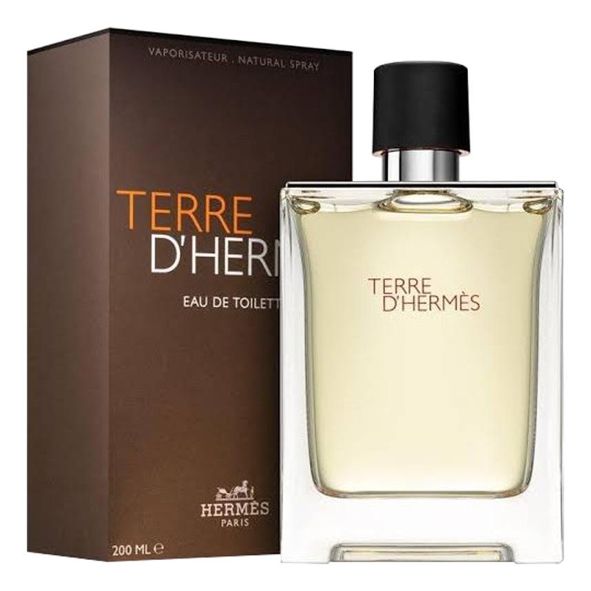 Terre D'Hermes pour homme: туалетная вода 200мл недорого