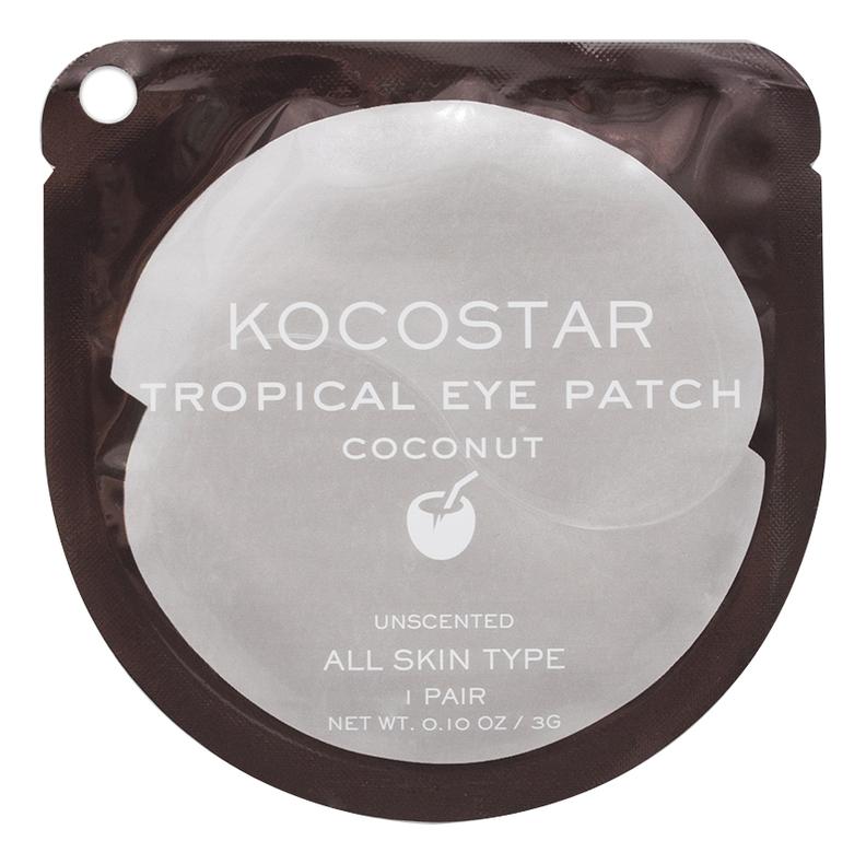 Гидрогелевые патчи для глаз с экстрактом кокоса Tropical Eye Patch Coconut: Патчи 1шт недорого