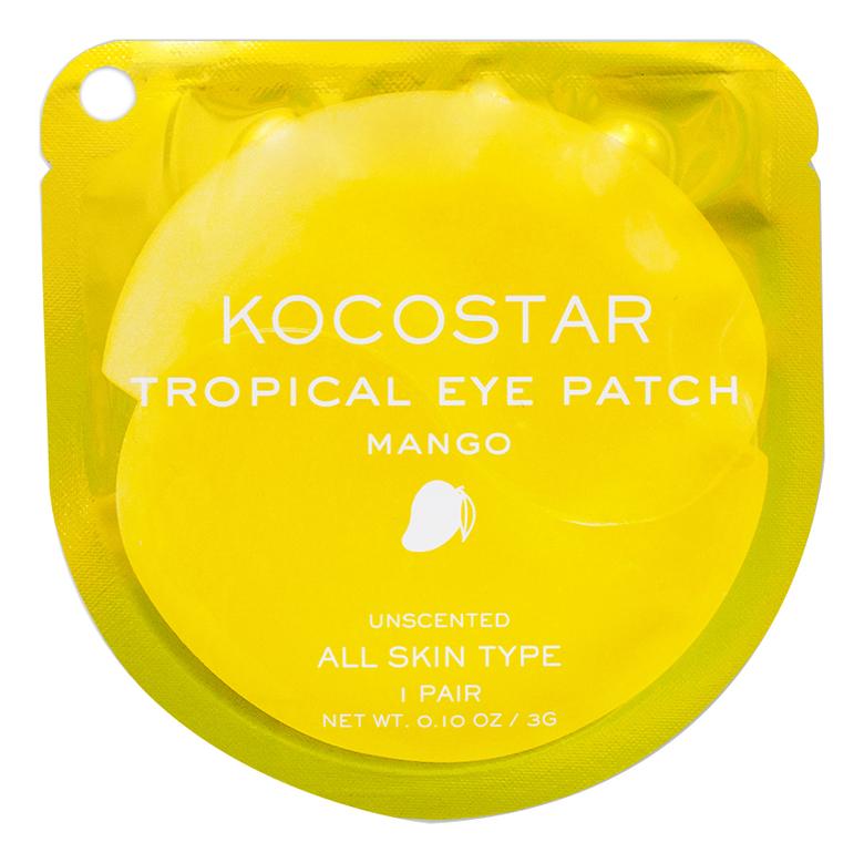 Гидрогелевые патчи для глаз с экстрактом манго Tropical Eye Patch Mango: Патчи 1шт недорого