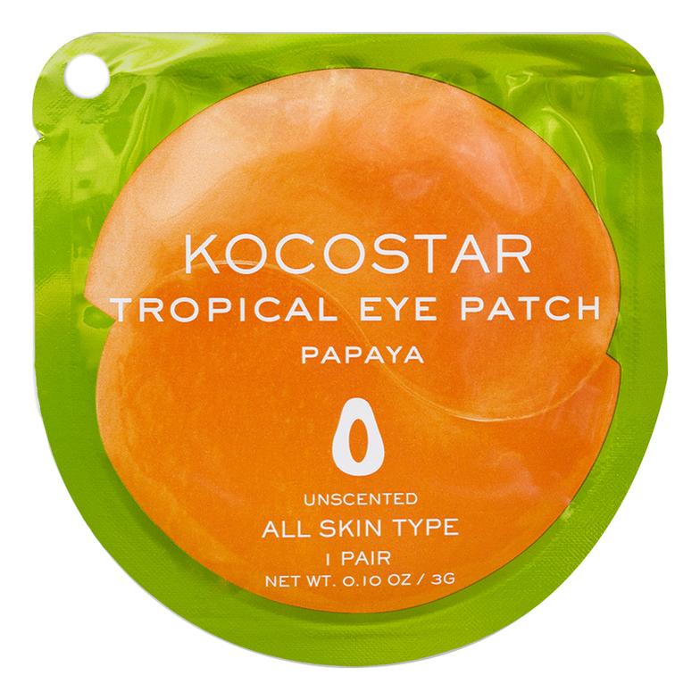 Гидрогелевые патчи для глаз с экстрактом папайи Tropical Eye Patch Papaya: Патчи 1шт недорого
