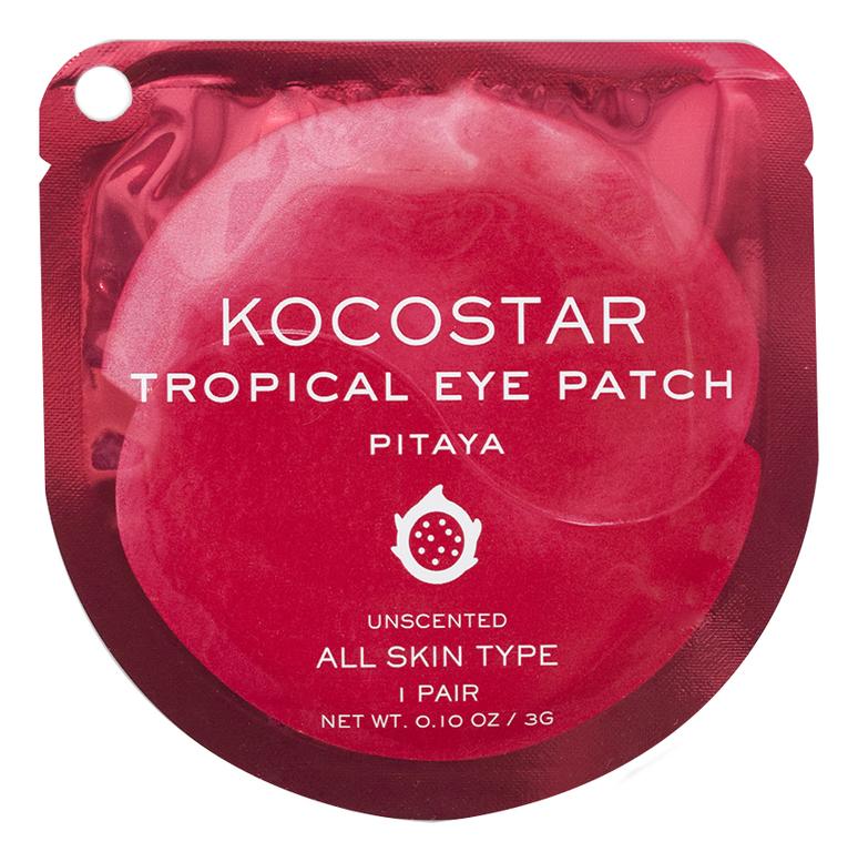 Гидрогелевые патчи для глаз с экстрактом питахайи Tropical Eye Patch Pitaya: Патчи 1шт недорого