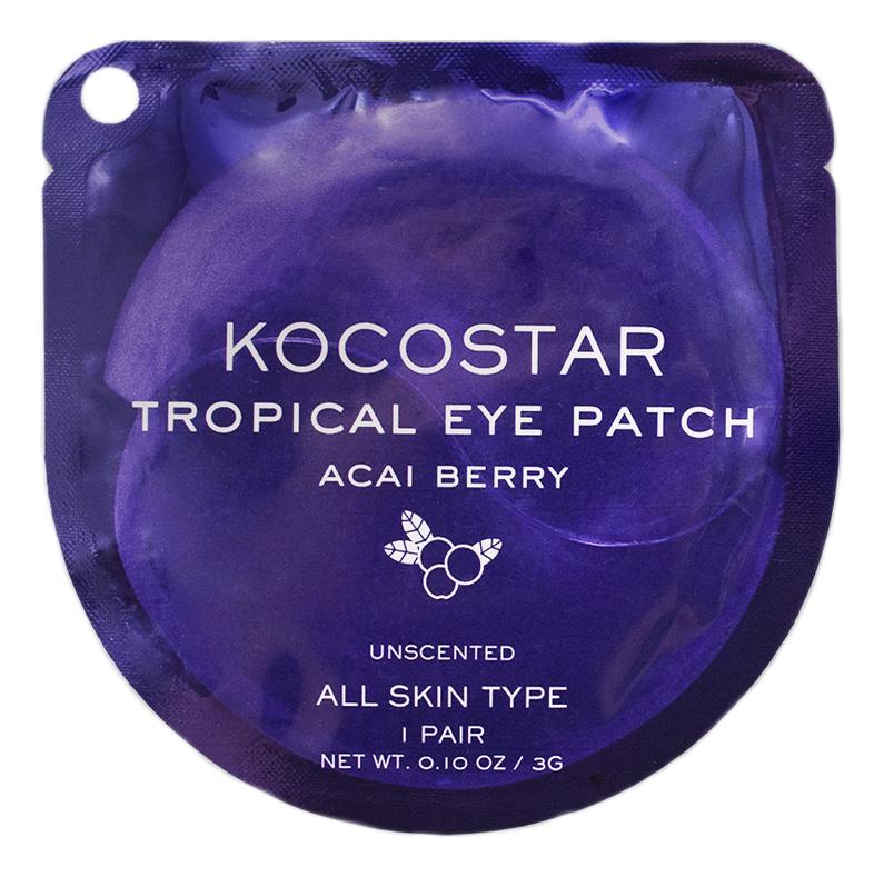 Гидрогелевые патчи для глаз с экстрактом асаи Tropical Eye Patch Acai Berry: Патчи 1пара недорого