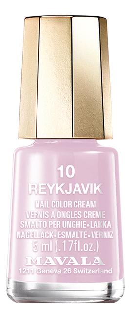 Лак для ногтей Nail Color Cream 5мл: 10 Reykjavik лак для ногтей nail color cream 5мл 240 jasper