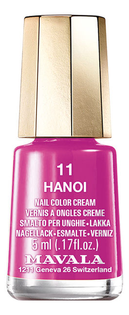 Купить Лак для ногтей Nail Color Cream 5мл: 11 Hanoi, MAVALA