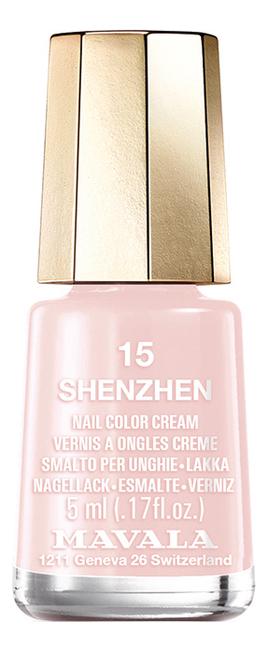 Фото - Лак для ногтей Nail Color Cream 5мл: 15 Shenzhen лак для ногтей nail color cream 5мл 312 poetic rose