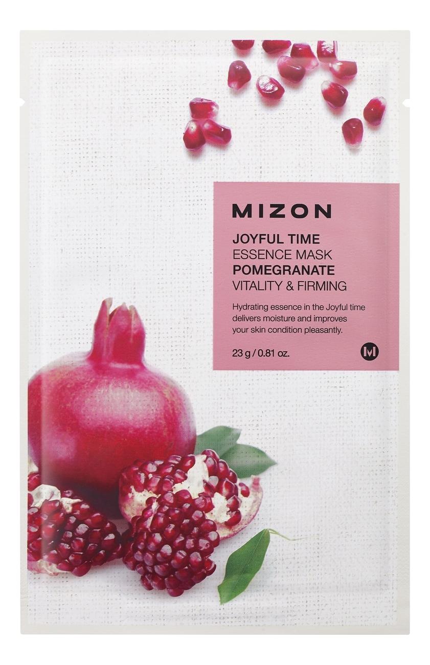 Купить Тканевая маска для лица с экстрактом гранатового сока Joyful Time Essence Mask Pomegranate 23г, Mizon