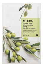 Mizon Тканевая маска для лица с экстрактом оливы Joyful Time Essence Mask Olive 23г