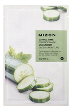 Mizon Тканевая маска для лица с экстрактом огурца Joyful Time Essence Mask Cucumber 23г