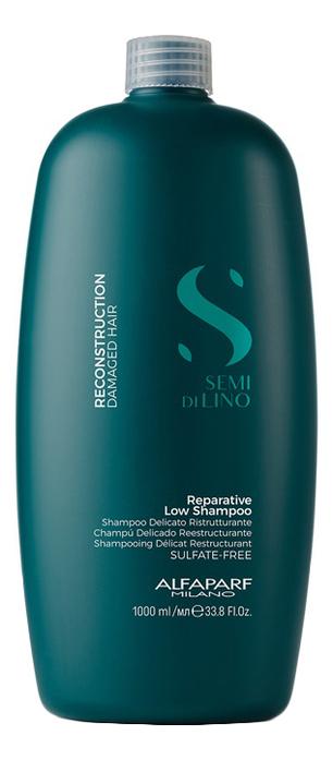 Купить Шампунь для поврежденных волос Semi Di Lino Reconstruction Reparative Low Shampoo 1000мл: Шампунь 1000мл, Alfaparf Milano