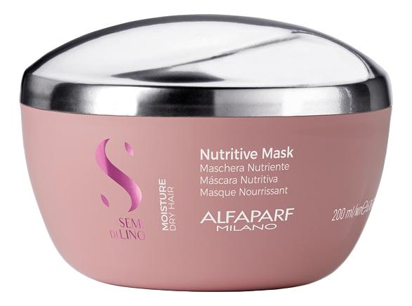 Маска для сухих волос Semi Di Lino Moisture Nutritive Mask 200мл: Маска 200мл недорого