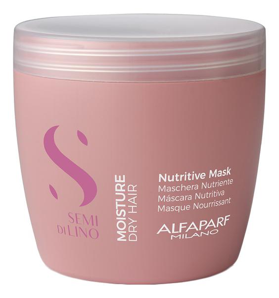 Маска для сухих волос Semi Di Lino Moisture Nutritive Mask 500мл: Маска 500мл фото