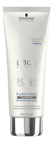 Очищающий шампунь для волос BC Scalp Genesis Purifying Shampoo: Шампунь 200мл schwarzkopf professional bonacure scalp genesis anti dandruff shampoo