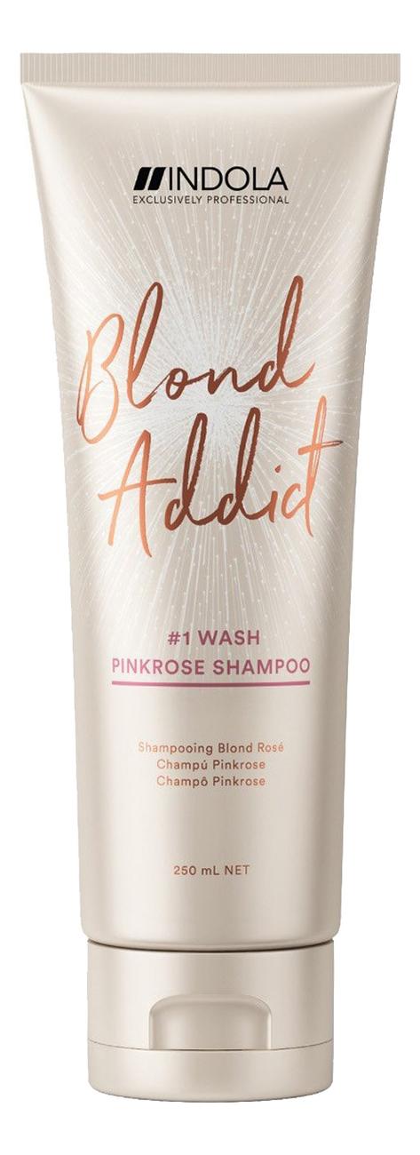 Оттеночный шампунь для светлых волос Blond Addict Pinkrose 250мл маска софт блонд для светлых и окрашенных волос smart blond 250мл