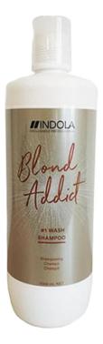 Купить Шампунь для всех типов волос Blond Addict: Шампунь 1000мл, Indola