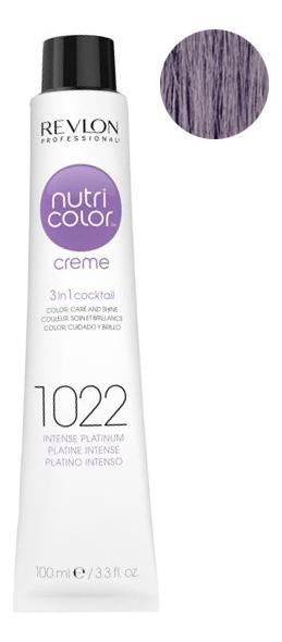 Краска для волос Nutri Color Creme 1022 Intensive Platinum: Краска 100мл недорого