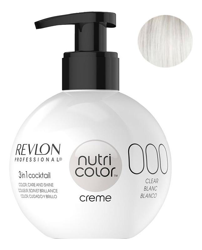 Краска для волос Nutri Color Creme 000 White Blanc: Краска 270мл fito color краска для волос