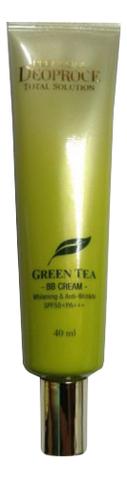 Купить BB крем для лица антивозрастной с экстрактом зеленого чая Premium Green Tea Total Solution Cream SPF50+ PA+++ 40мл, Deoproce