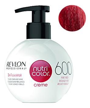 Краска для волос Nutri Color Creme 600 Fire Red: Краска 270мл fito color краска для волос