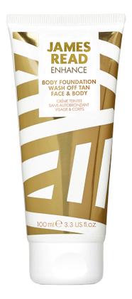 Купить Крем-корректор для тела с эффектом загара Enhance Body Foundation Wash Off Tan Face & Body 100мл, Крем-корректор для тела с эффектом загара Enhance Body Foundation Wash Off Tan Face & Body 100мл, James Read