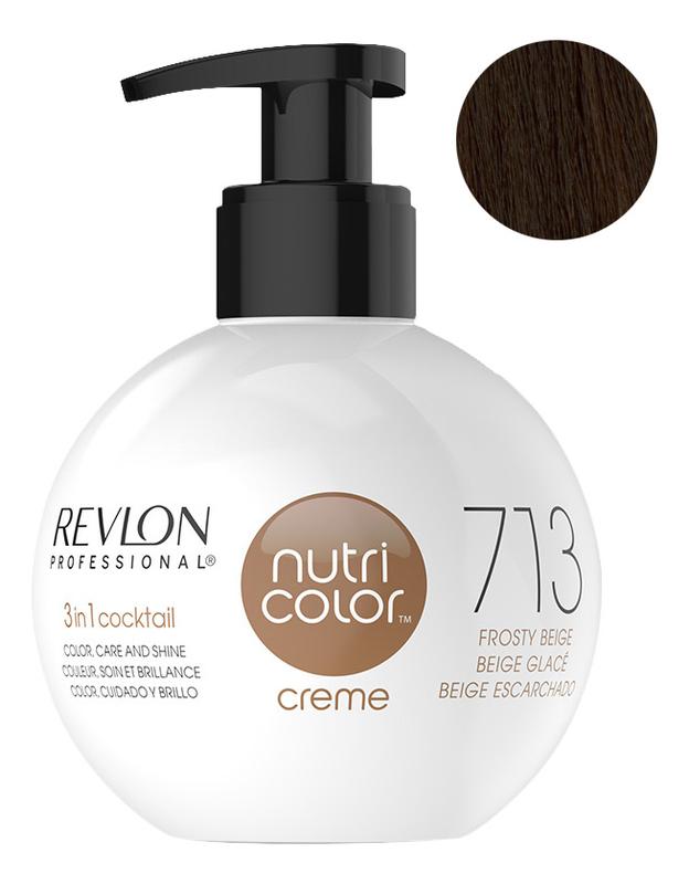 Краска для волос Nutri Color Creme 713 Havana: Краска 270мл fito color краска для волос