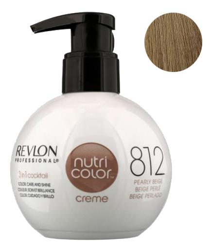 Краска для волос Nutri Color Creme 812 Light Pearly Beige Blonde: Краска 270мл fito color краска для волос