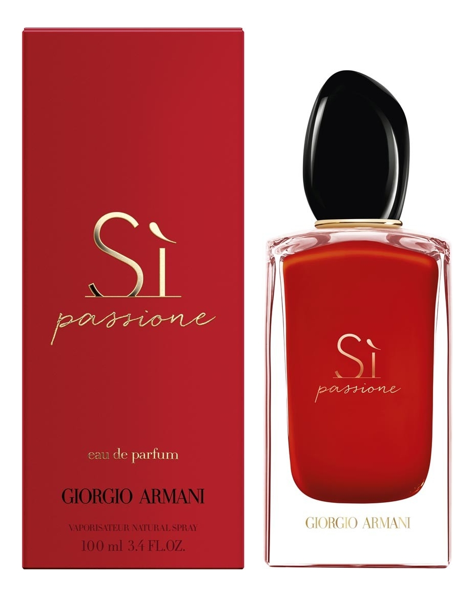 Armani Si Passione: парфюмерная вода 100мл armani si passione limited edition 2019 парфюмерная вода 100мл тестер