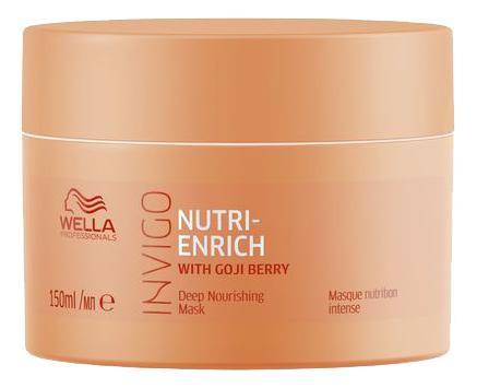 Купить Маска-уход 150мл, Питательная маска-уход для волос Invigo Nutri-Enrich Deep Nourishing Mask, Wella